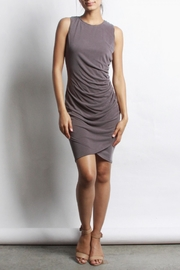 Mod Ref Dust-Plum Wash-Modal Dress - Product Mini Image