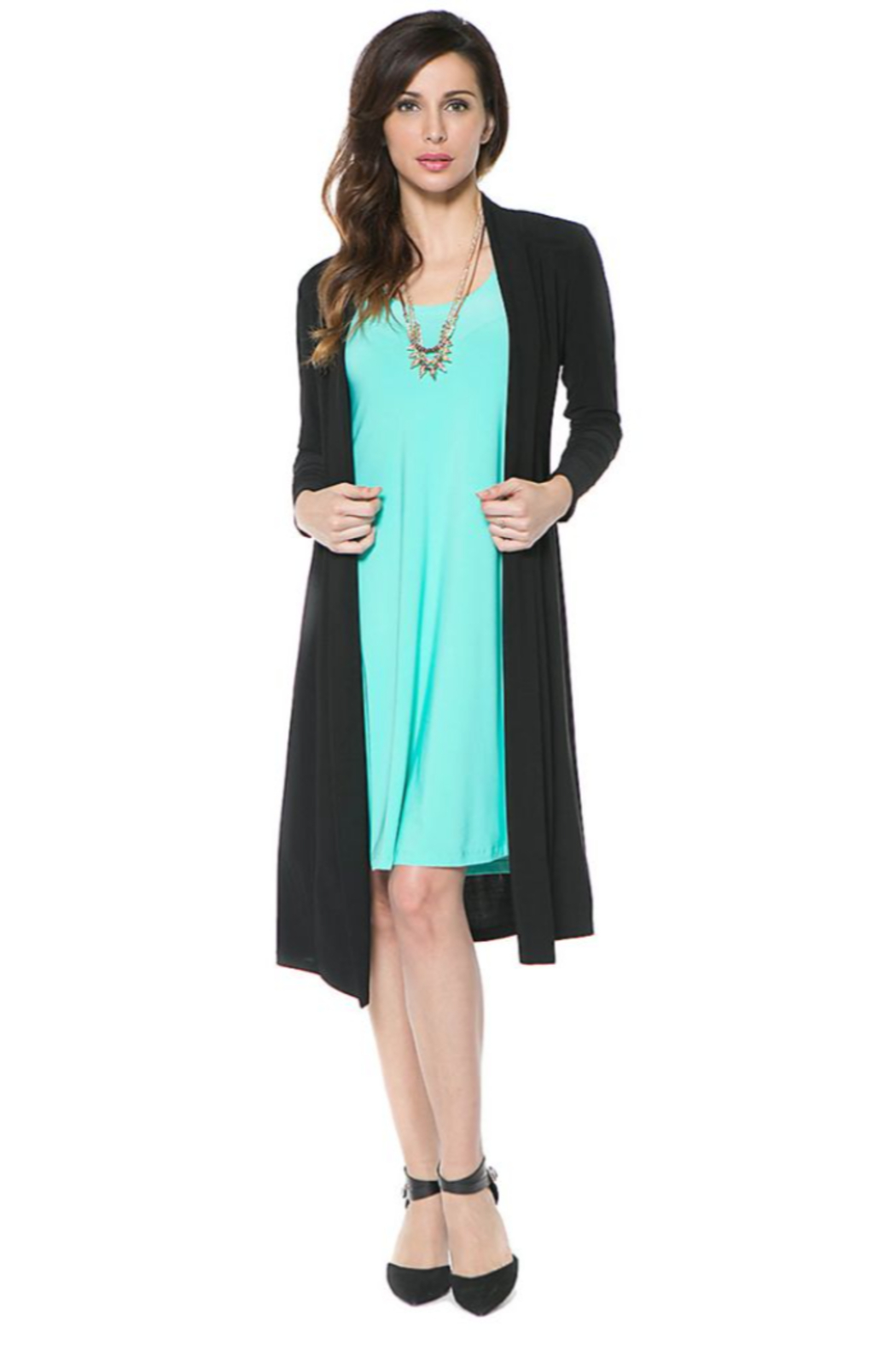 Last Tango Duster Jacket - Front Cropped Image