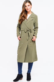 MONTREZ DUSTER TRENCH COAT - Front cropped