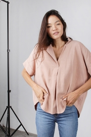 Mod Ref Dusty-Pink Oversized Top - Other