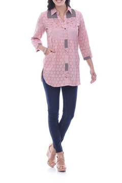 Parsley & Sage Dusty Rose Blouse - Alternate List Image