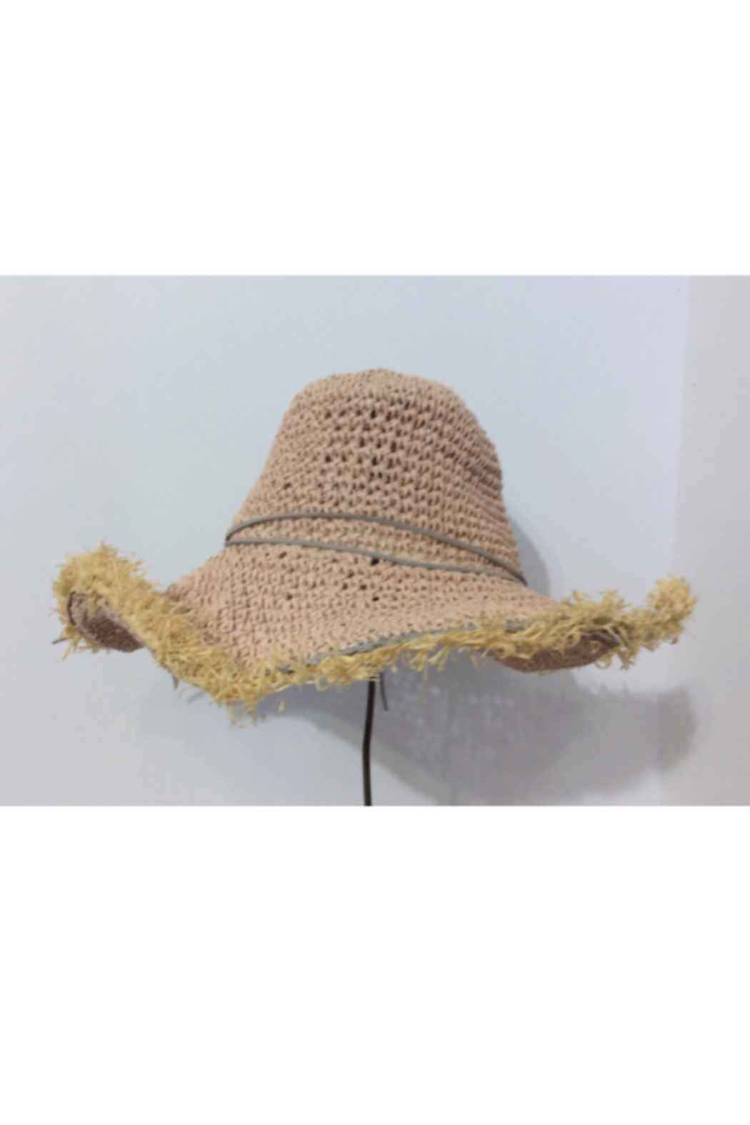 DiJore Dusty Rose Hat - Front Full Image
