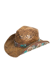 Peter Grimm Dusty Rose Hat - Product Mini Image