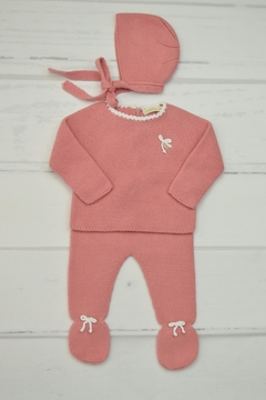 Shoptiques Product: Dusty-Rose Newborn Outfit