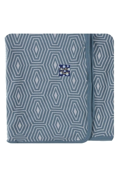 Kickee Pants Dusty-Sky-Tides Swaddling Blanket - Product List Image