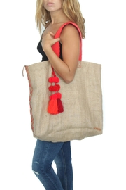 Dutzi Vintage Burlap Tote Bag - Product Mini Image