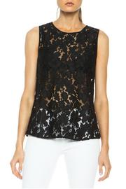 Diane von Furstenberg Madalena Lace Top - Product Mini Image