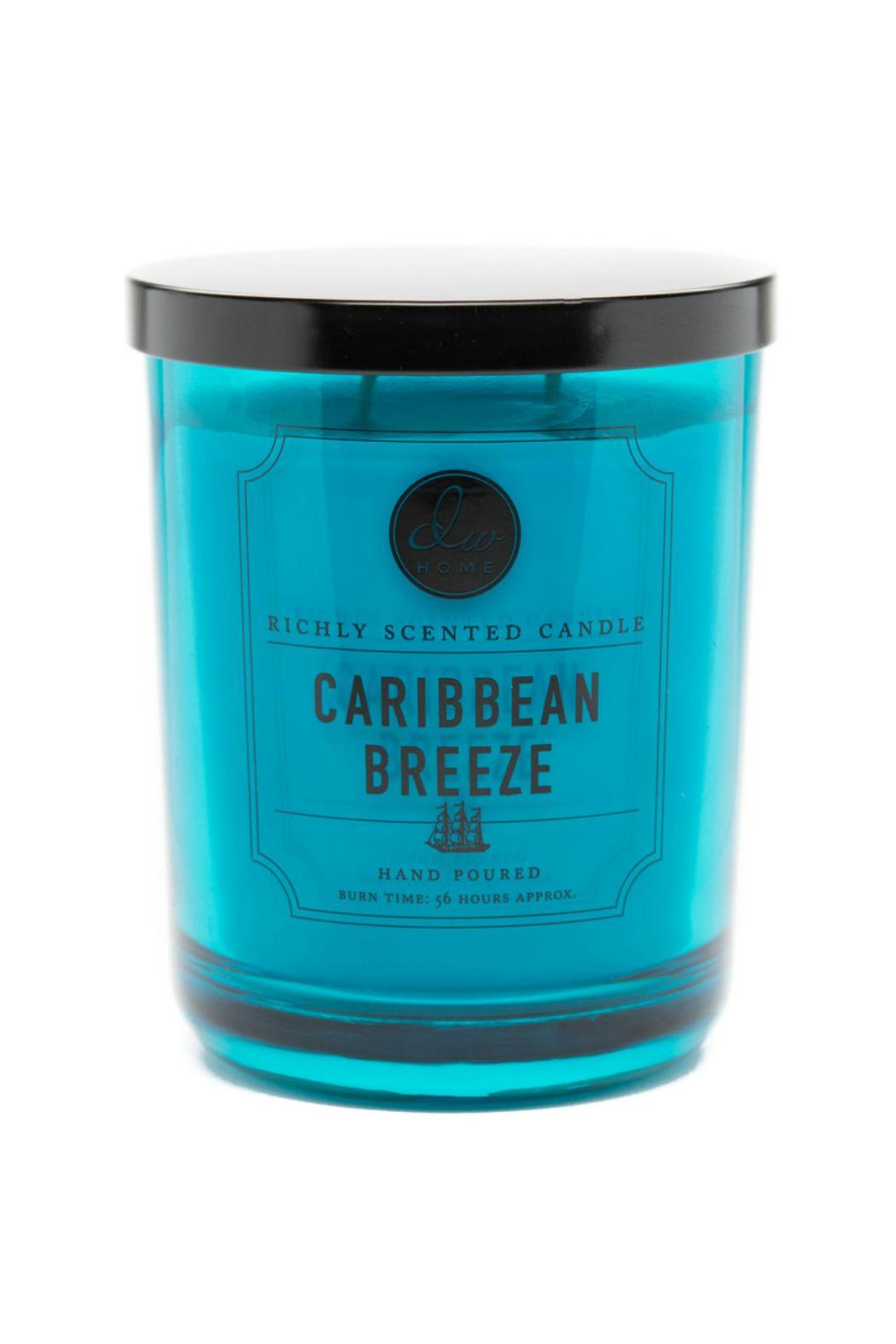 DW Home Large Caribbean-Breeze Candle - Main Image