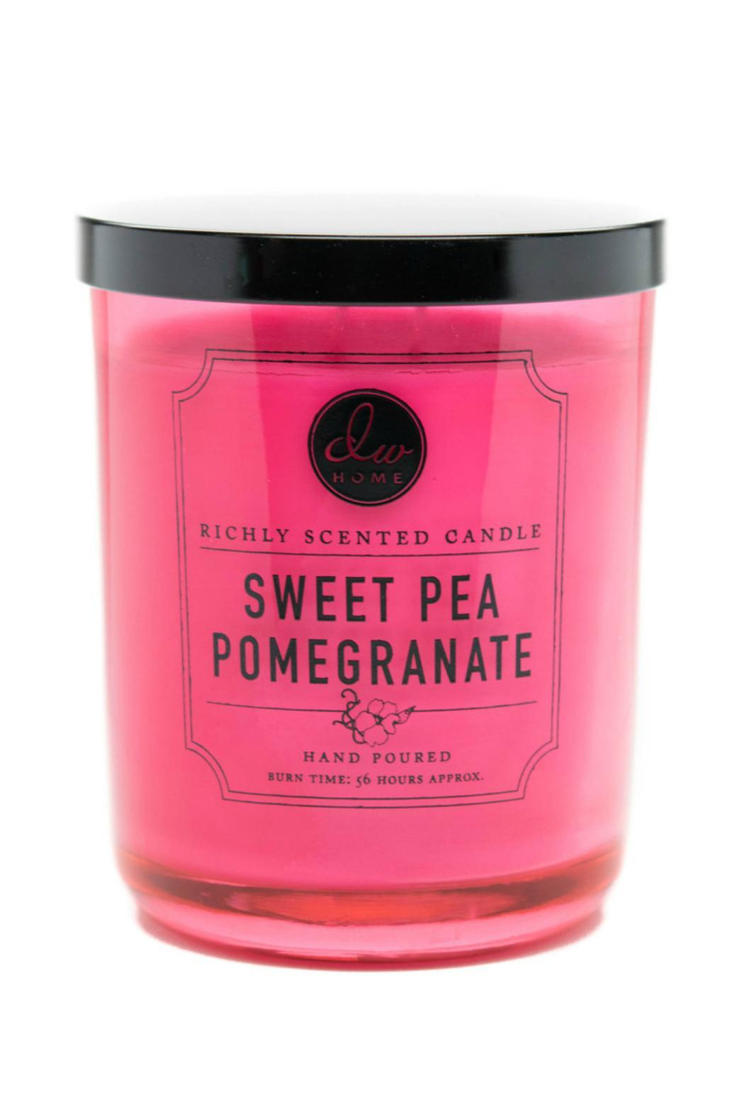 DW Home Sweet-Pea-Pomegranate Candle - Main Image