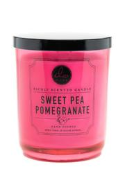 DW Home Sweet-Pea-Pomegranate Candle - Front cropped