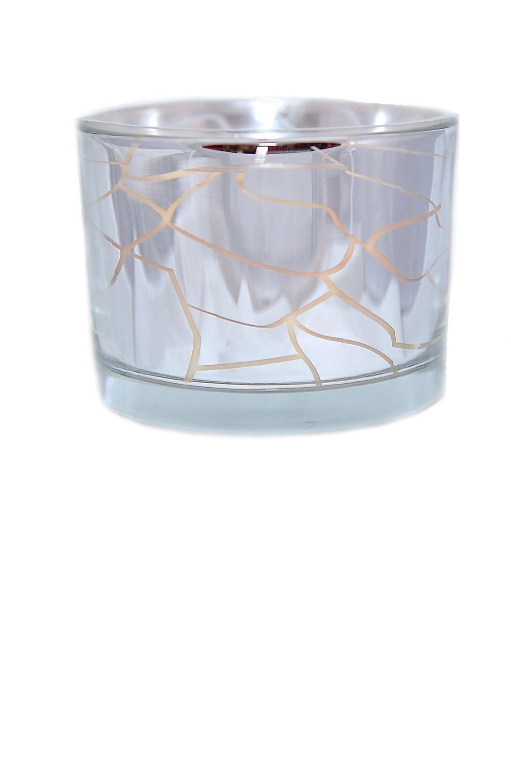 DW Home Mirrored/crackle Jar Candle - Main Image