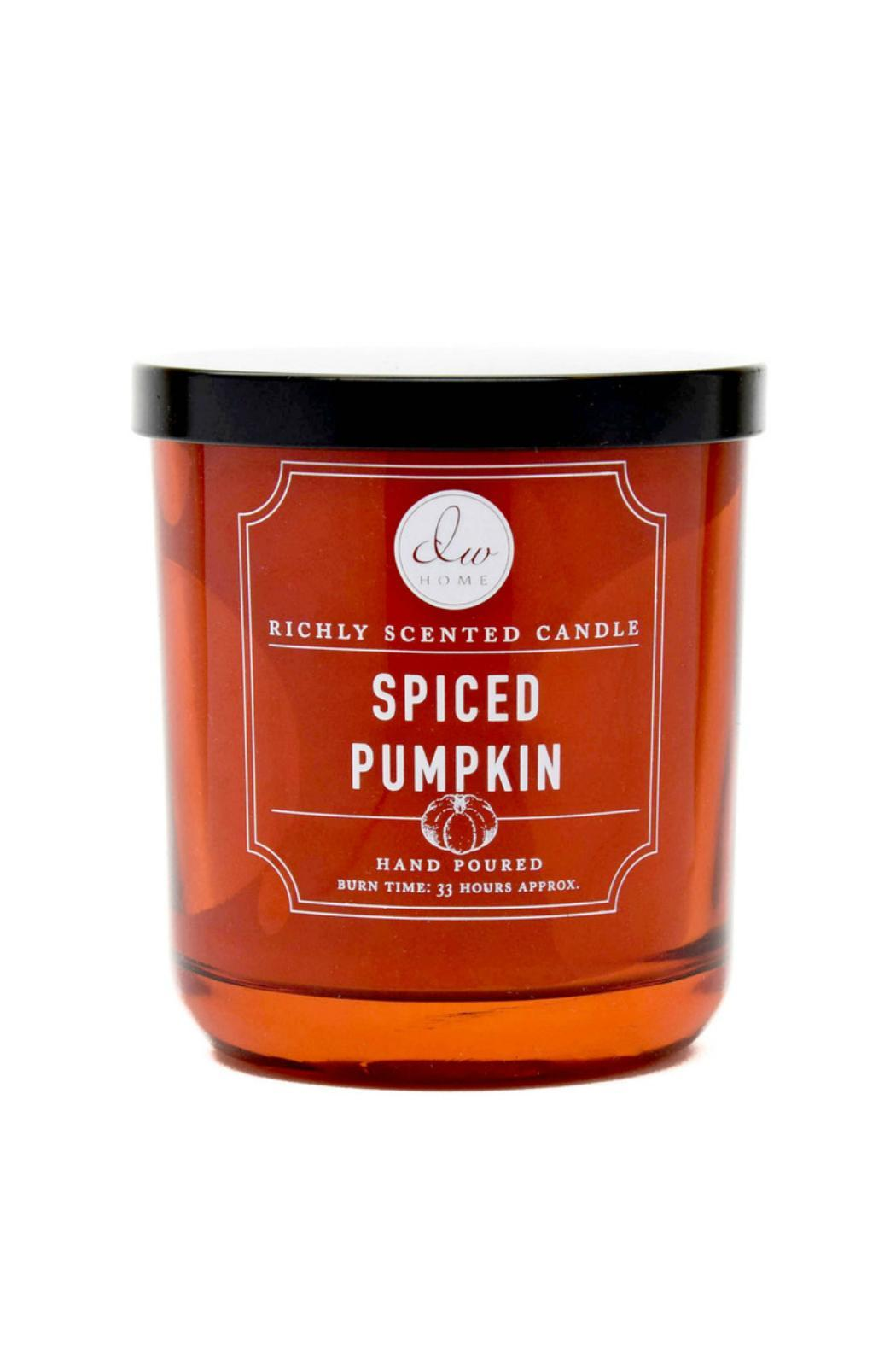 dw home spiced pumpkin candle from new york by memory lane. Black Bedroom Furniture Sets. Home Design Ideas