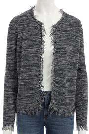 Minnie Rose Dye Frayed Cardigan - Product Mini Image