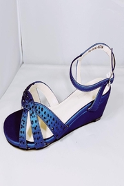 Dyeables Navy Sparkle Wedge - Product Mini Image