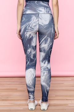 Shoptiques Product: Abstract High-Waist Leggings
