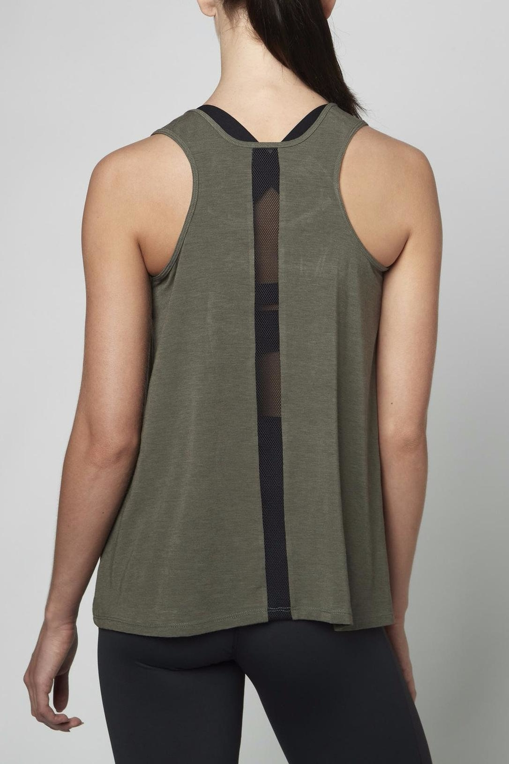 DYI Mesh Back Tank Top - Front Full Image