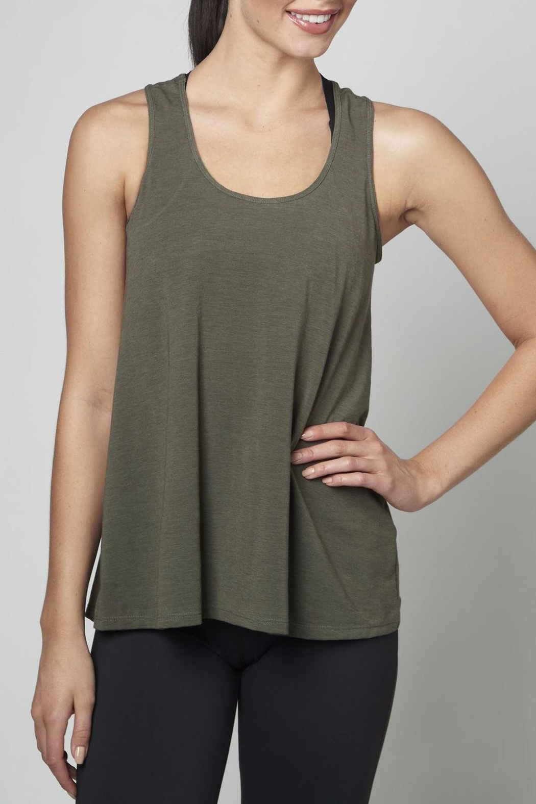 DYI Mesh Back Tank Top - Front Cropped Image