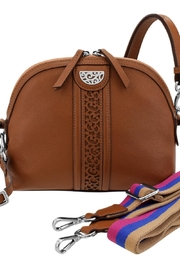 Brighton Dylan Domed Crossbody - Front cropped
