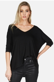 Michael Lauren Dylan Draped Tee - Product Mini Image