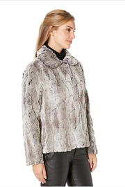 Dylan Faux-Fur Plush Jacket - Front full body