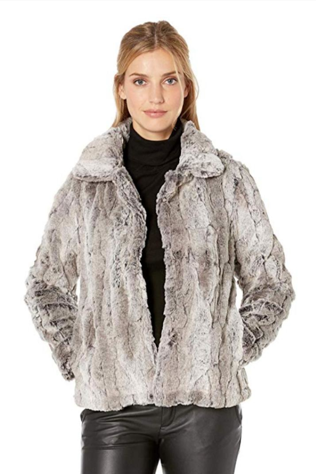 Dylan Faux-Fur Plush Jacket - Main Image