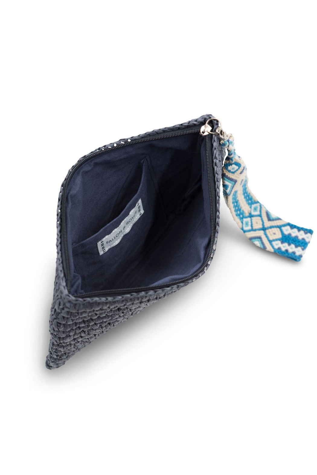 Fallon & Royce Dylan Straw Clutch - Front Full Image