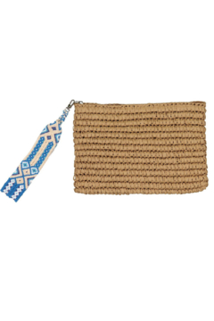 Fallon & Royce Dylan Straw Clutch - Product List Image