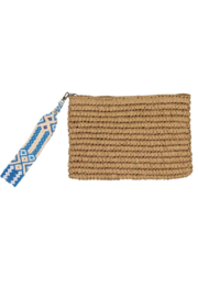 Fallon & Royce Dylan Straw Clutch - Product Mini Image