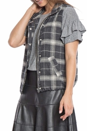 Dylan by True Grit Lined Flannel Vest - Front full body