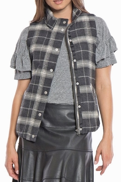 Shoptiques Product: Lined Flannel Vest