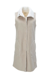 Dylan by True Grit Long Vest - Front cropped