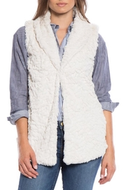 Dylan by True Grit Shawl Collar Vest - Front cropped