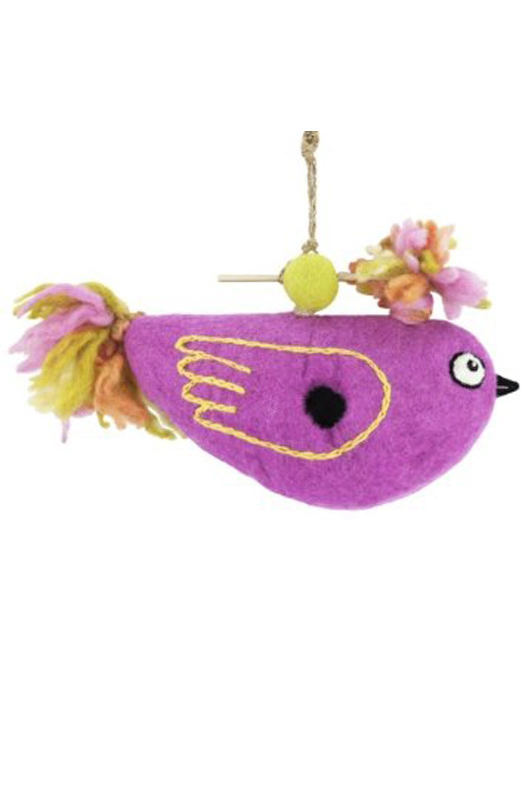 DZI Felted Bird Birdhouse - Main Image