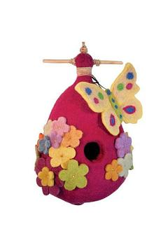 Shoptiques Product: Felted Butterfly Birdhouse