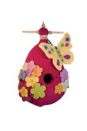 DZI Felted Butterfly Birdhouse - Product Mini Image