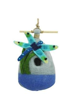 Shoptiques Product: Felted Dragonfly Birdhouse