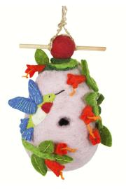 DZI Felted Hummingbird Birdhouse - Product Mini Image