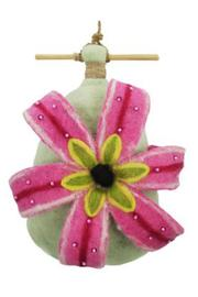 DZI Felted Lily Birdhouse - Product Mini Image