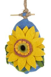 DZI Felted Sunflower Birdhouse - Product Mini Image