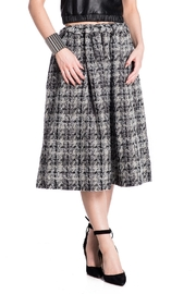E. Tautz Pull Tie Wool Skirt - Side cropped