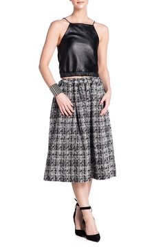 Shoptiques Product: Pull Tie Wool Skirt