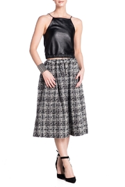 E. Tautz Pull Tie Wool Skirt - Product Mini Image