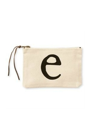 MUDPIE E Cosmetic Bag - Front cropped