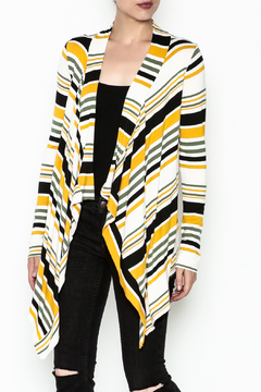Shoptiques Product: Striped Open Cardigan
