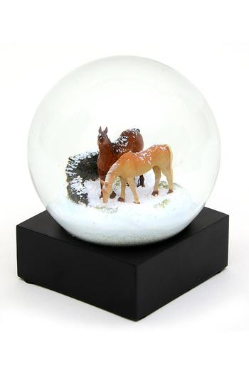 Cool Snow Globes Horse Snow Globe From New Jersey By