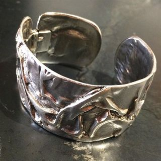 Shoptiques Product: Silver Metal Cuff