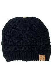 KOVA Ribbed Black Hat - Product Mini Image