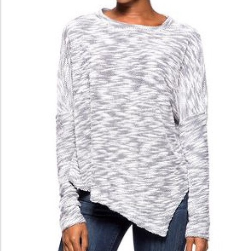 Marked Asymmentrical Sweater - Main Image