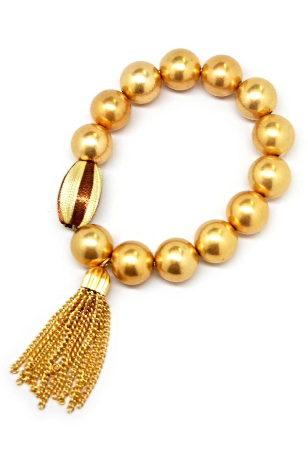 Made It! Gold Tassel Bracelets - Main Image