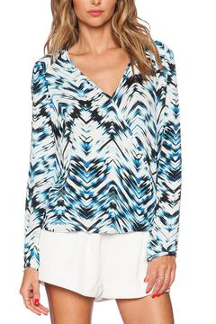 Shoptiques Product: Waveland Surplice Top